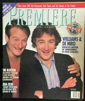 PREMIERE Magazine January 1991 ROBIN WILLIAMS / Robert De Niro / Lena Olin