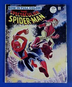 SPECTACULAR SPIDER-MAN #2 COMIC BOOK MAGAZINE ~ Marvel 1968 ~ FN
