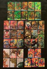 1995 Fleer Ultra Spider-Man Marvel Cards Insert Card Sets & Singles You Choose
