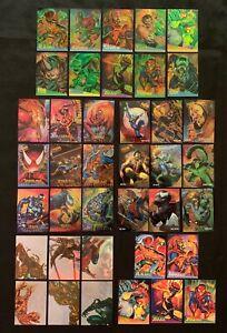 1995 FLEER ULTRA SPIDER-MAN MARVEL CARDS INSERT CARD SETS & SINGLES YOU CHOOSE