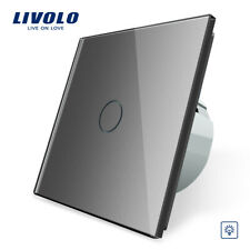 LIVOLO 2020 Waterproof Touch Electrical 1Gang Dimmer Control Switch Grey