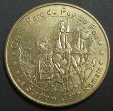 MONNAIE DE PARIS - LES EPESSES PUY DU FOU N°2 - LE STADIUM GALLO ROMAIN - 2003