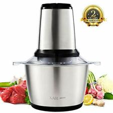 Meat Grinder Electric, Food Chopper (2L 350W) Food Processor for Meat,