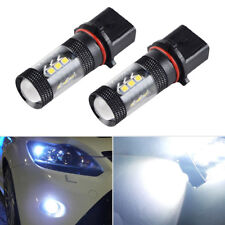 2x Xenon White 80W P13W CREE LED Bulbs For Audi A4 Q5 Daytime Running Lights DRL