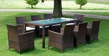 Aluminium Patio More than 8 Pieces Table & Chair Sets