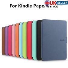 PU Cuero Magnética inteligente casos Cubierta para Amazon Kindles Paperwhite 1/2/3