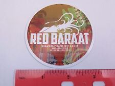 Collectible STICKER: RED BARAAT Bhangra Pirates Out ~ Best Party Band on CD, MP3