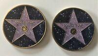 Donald Trump Hollywood Star Challenge Coin (POTUS Bush Obama White House Biden)