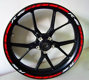 Stickers for wheels Yamaha R6