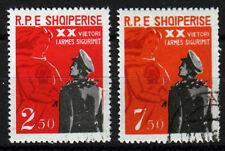 Albanien 715-16, O, 45 Jahre Oktoberrevulotion