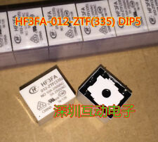 HF3FA, 012-ZFT (335) Power Relay 10A 250VAC 5 Pins 10pcs
