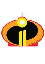 Incredibles 2 Large Birthday Party Candle