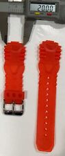 TECHNOMARINE GEL PLASTIC BAND STRAP 20 MM RED