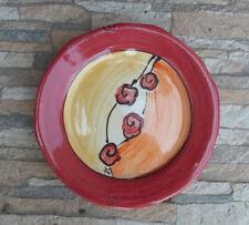 Piatti da cucina dessert rosso
