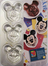 Disney Mickey Mouse 6 cavity mini pan from Wilton 3600