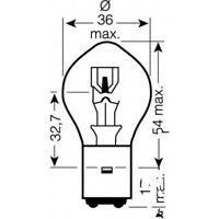 Lampe 12V35/35 Watt JMP bilux bulb 12v 35/35w Honda MBK Suzuki Yamaha Peugeot XC