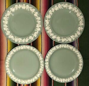 4 Vintage Wedgwood Dinner Plates Queens Ware Barlston Green