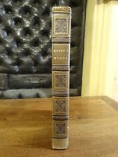 The poetical works of Thomas Moore Galignani 1827 Reliure Demi Veau Anglais