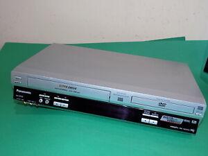 PANASONIC DVD Player / Video Recorder VHS Combo NV-VP33 Silver Dual Deck Quality