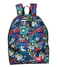 Girls Boys Backpack Graffiti Reilly Graph Rucksack School Bag RRP £18