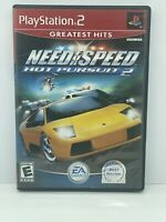 """Need for Speed: Hot Pursuit 2 (Play Station 2) - """"VG Condition"""" CIB"""