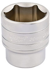 "Genuine Draper 1/2"" Cuadrado Drive 6 punto métricas Socket (30mm) | 16620"