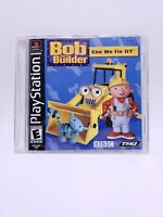 Bob the Builder: Can We Fix It (Sony PlayStation 1, 2001 PS1) - Complete