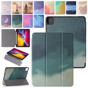 Folio Stand Smart Case Cover For iPad 9.7 10.2 8th Air 10.9 4th Pro 11 12.9 2020