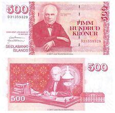 More details for iceland 500 kronur 2001 p-58b banknotes unc