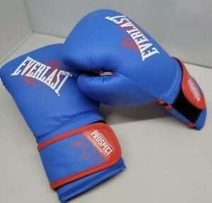 Everlast Prospect - Youth Training Blue Boxing  Sparring Gloves 8 oz - Excellent