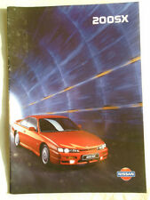 Nissan 200SX range brochure Oct 1997