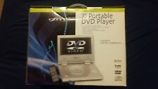"""GFM 7"""" portable DVD player. New with remote and battery"""