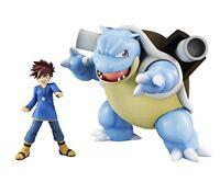 MegaHouse G.E.M. Series Pokemon Shigeru & Blastoise Figure NEW from Japan
