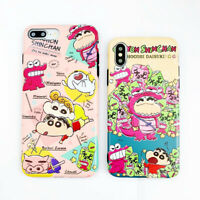 Cute Crayon Shin Chan TPU Phone Case Cover For iPhone 11 Pro X XS Max XR 6 7 8