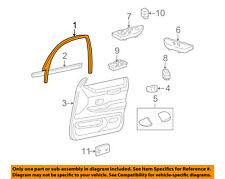 FORD OEM Front Door-Window Molding Right 1W7Z5420890AAB