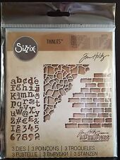 Sizzix Thinlits -Tim Holtz - Mixed Media#3
