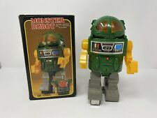 Vintage Monster Robot Space Robot With Box - Battery Operated 1980'S Taiwan