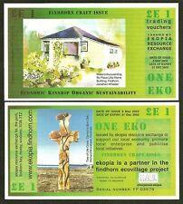 SCOZIA: ektopia 3 x e £ 1 banconote, 1st, 2nd. & 4th. SERIE, TUTTI I unc.