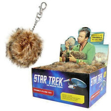 Star Trek The Coop 2.5 inch Single Brown Tribble Plush Key Chain New in Stock