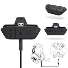 Official Headset Headphone Audio Game Adapter for Microsoft Xbox One Controller