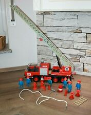 Playmobil Klicky Feuerwehr Leiterwagen 3525 mit Figuren und Zubehör