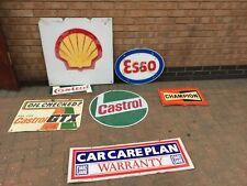 More details for garage signs, shell, esso, castrol