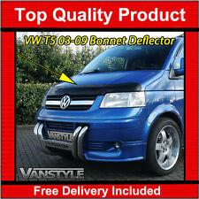 VW T5 TRANSPORTER 2003-09 BONNET WIND STONE DEFLECTOR PROTECTOR NOT BONNET BRA