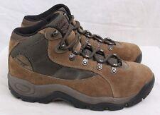 Hi-Tec Eclipse Lite Brown Leather 6-Eye Hiking Trail Ankle Boot Women's U.S. 8.5