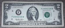 USA: $2 dollari bill/BANCONOTA dal 1995 IN CONDIZIONI In buonissima condizione/F. USD. F23002100B