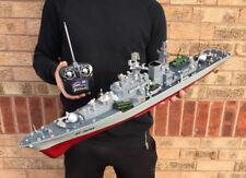 Radio Remote Control Boat Destroyer Battleship Boat RTR 1:275 Scale