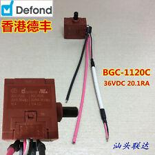1pc Defond BGC-1120C 36VDC 20.1RA Trigger Switch