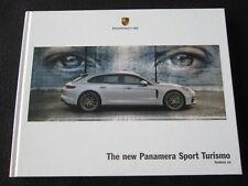 2018 Porsche Panamera Sport Turismo Hardocover Brochure 4 4S Turbo E-Hybrid Book