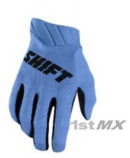 Shift 3LACK Label AIR Motocross MX Off Road Race Gloves Blue Adults Large