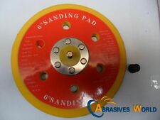 "one 150mm 6"" backing pad/abrasive sanding disc pad for air sander"